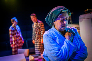 Gay Carducci as Linda Loman.  Photo by Rebecca Gudelunas.