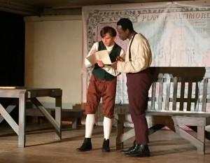 Damon Zarro and Gregory Holmes Jr.  in YOUNG FREDERICK DOUGLASS (Photo credit: Jen Jaynes)