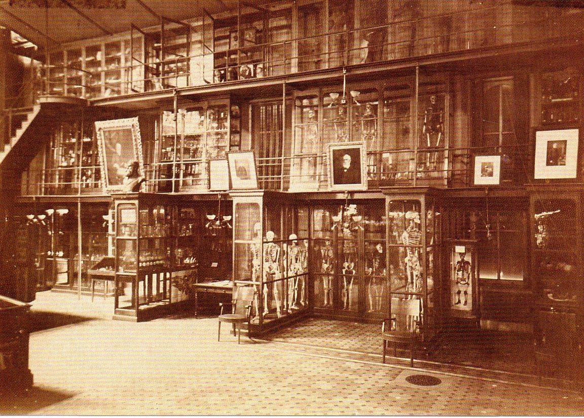 Mutter Museum circa 1880.