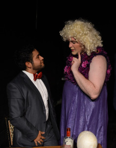 Angel J.Sigala (left) and Thomas-Robert Irvin in MY FAVORITE HUSBANDS (Photo by John Donges).