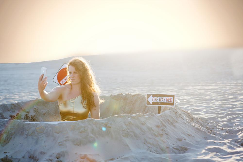 Dani Solomon on Mars.