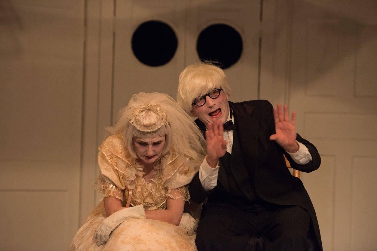 Tina Brock and Bob Schmidt as the Old-Couple. Photo by Johanna Austin.