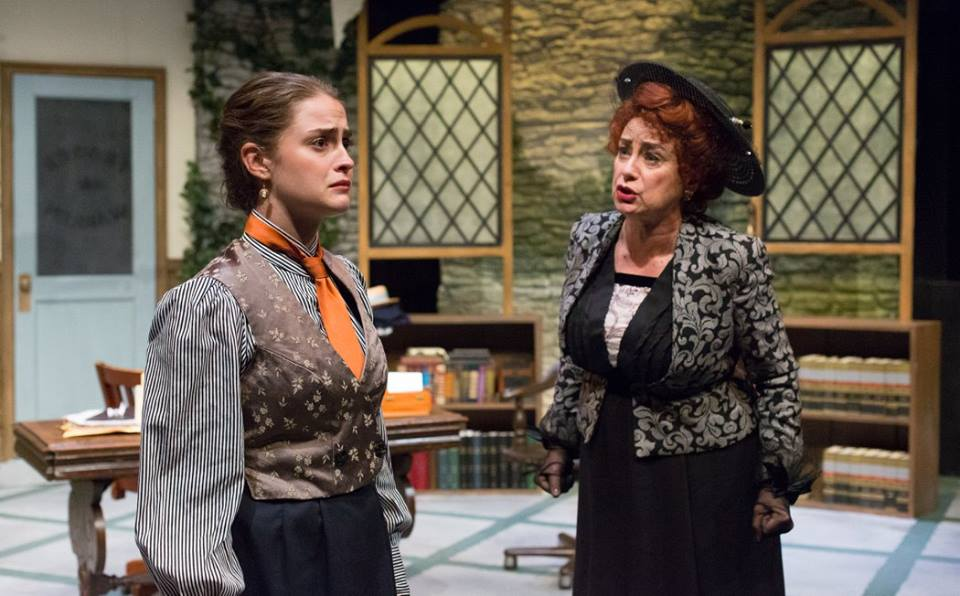 KC MacMillan directed MRS. WARREN'S PROFESSION for Lantern Theater. Photo by Mark Garvin.