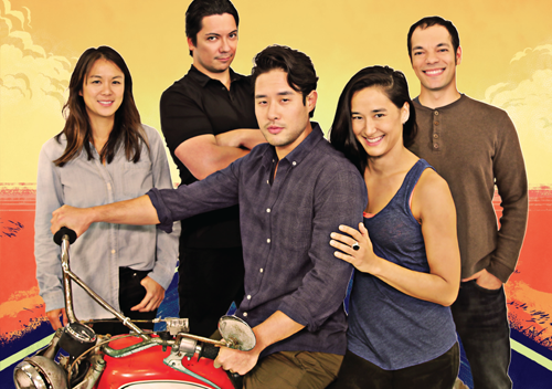 The cast of VIETGONE.