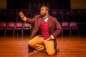 Akeem Davis as Bartram. Photo by Ashley LaBonde, Wide Eyed Studios.