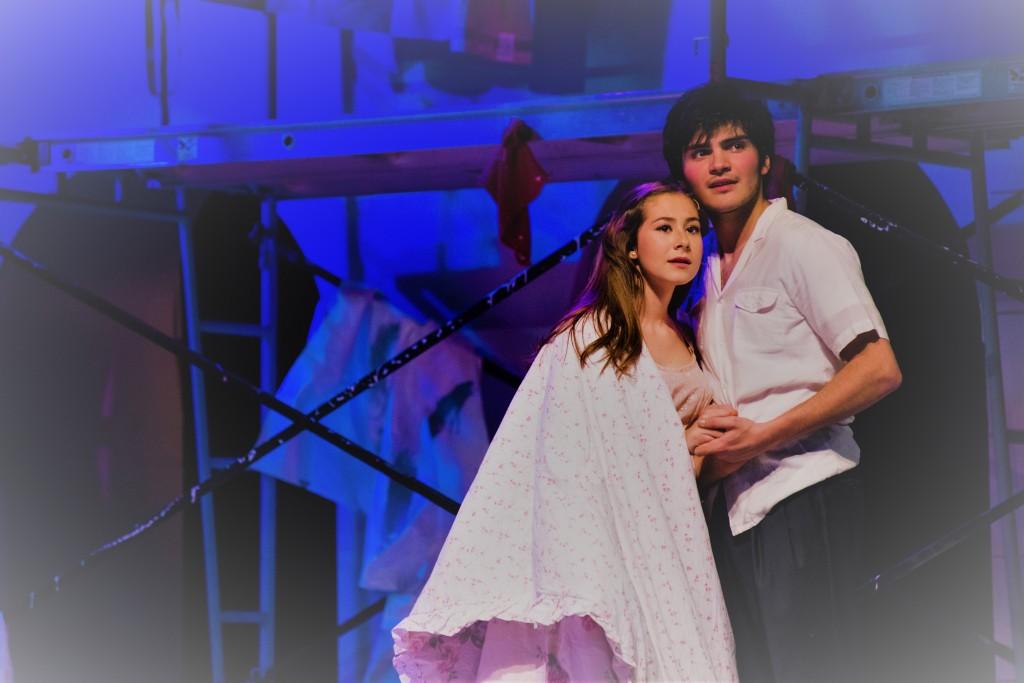 Brandon O' Rourke and Lexi Gwynn as ROMEO & JULIET.