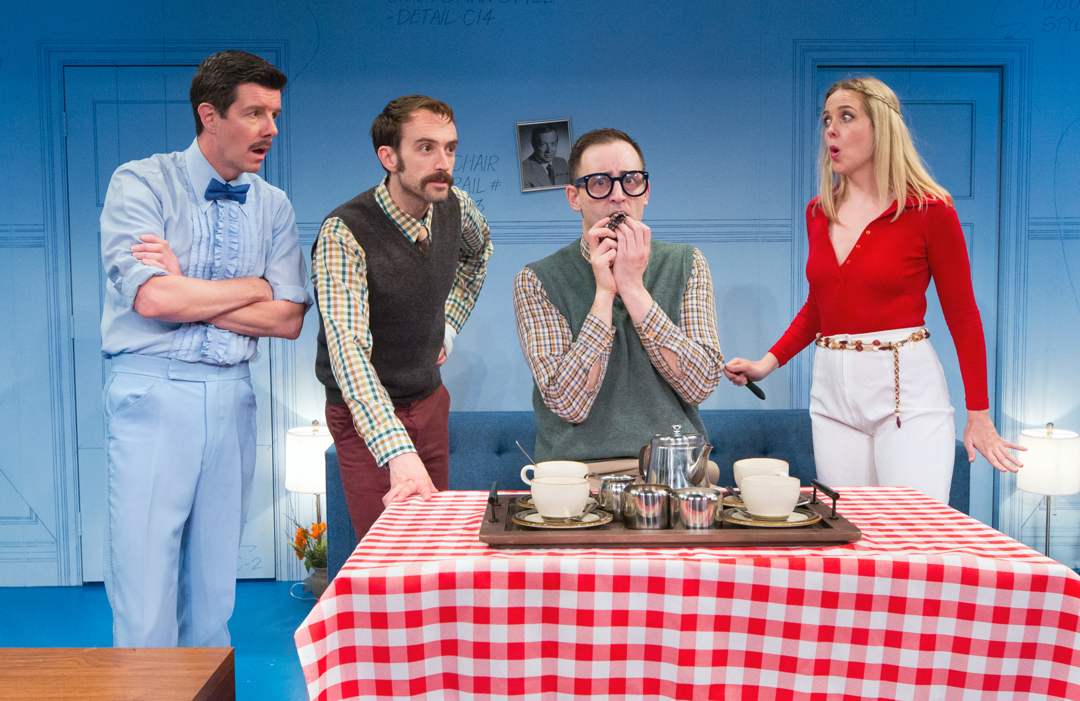 THE NERD at Bucks County Playhouse. Photo by Mark Garvin.