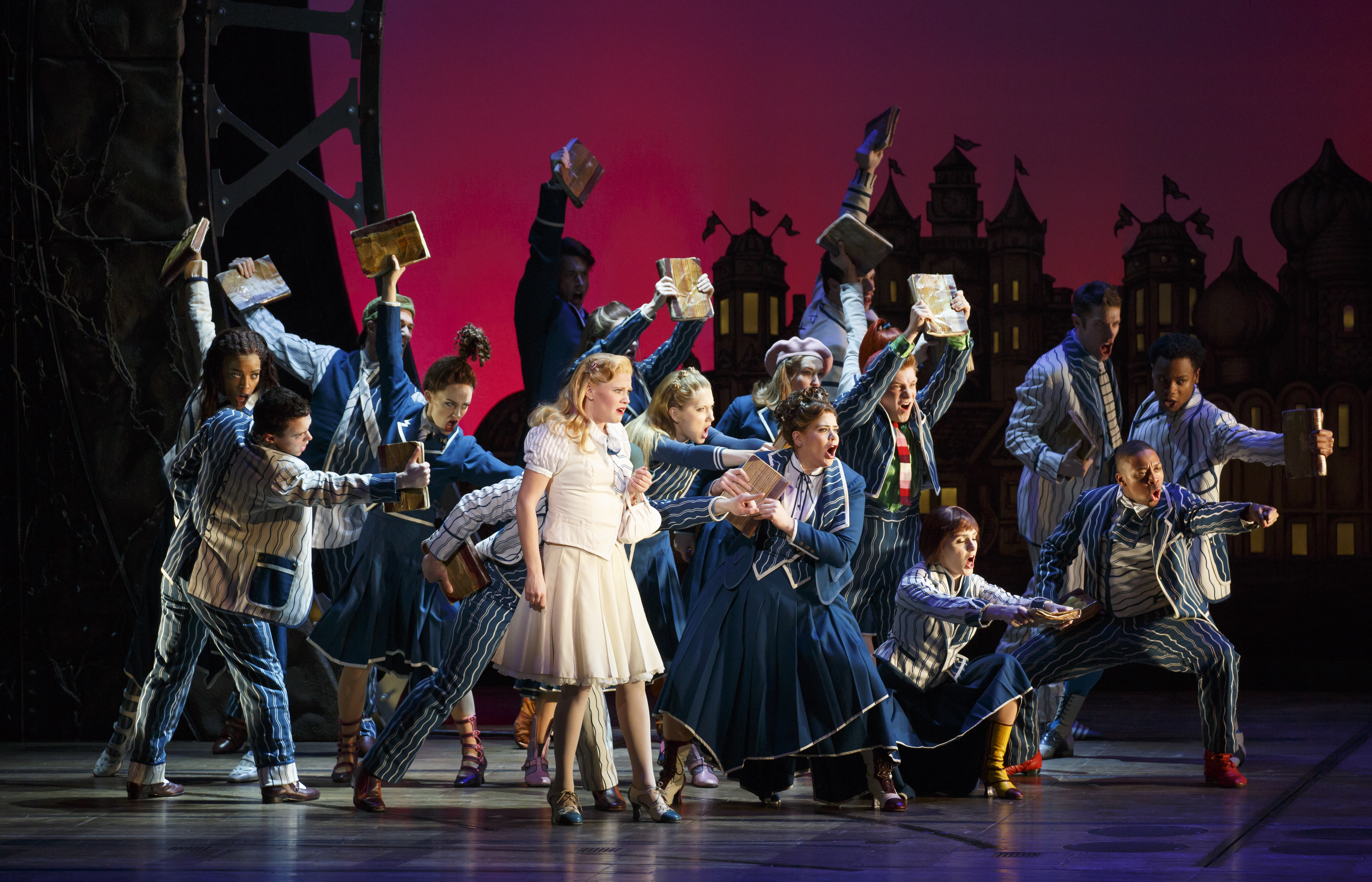 The National Touring Company of WICKED. Photo by Joan Marcus.