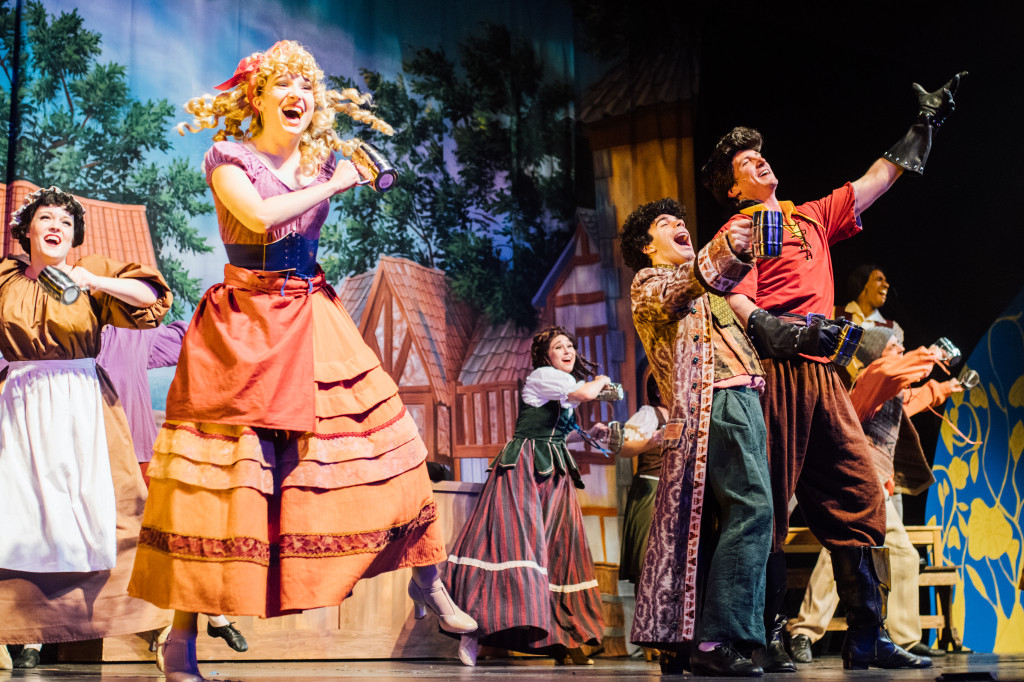 The company of BEAUTY AND THE BEAST. Photo credit Alex Medvick