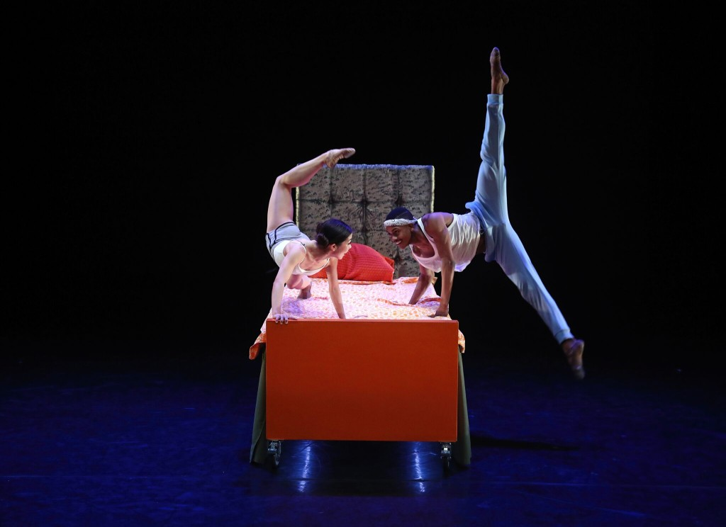Choreography: The Boogeyman by Trey McIntyre Dancers: Andrea Yorita and Roderick Phifer Photography: Bill HebertChoreography: The Boogeyman by Trey McIntyre Dancers: Andrea Yorita and Roderick Phifer Photography: Bill Hebert