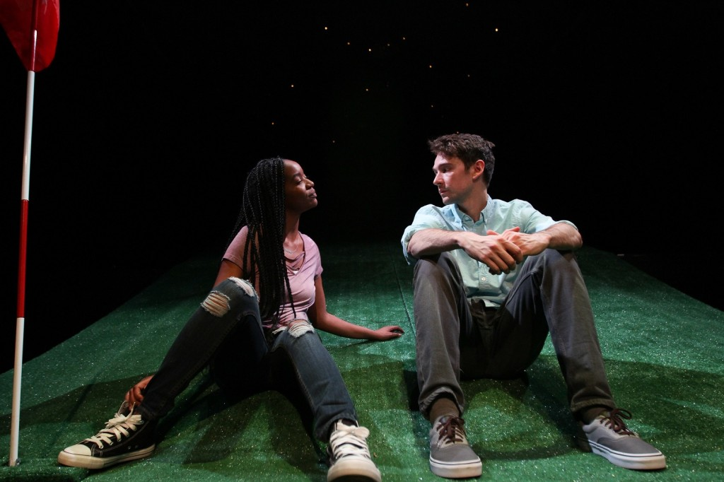 Kishia Nixon and Trevor William Fayle. Photo by Paola Nogueras.