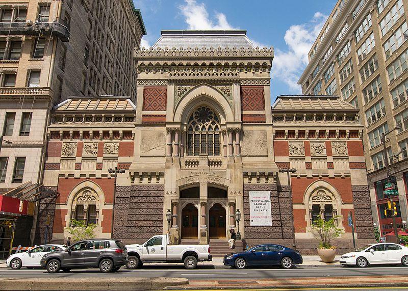Pennsylvania Academy of the Fine Arts, Philadelphia's oldest art school.
