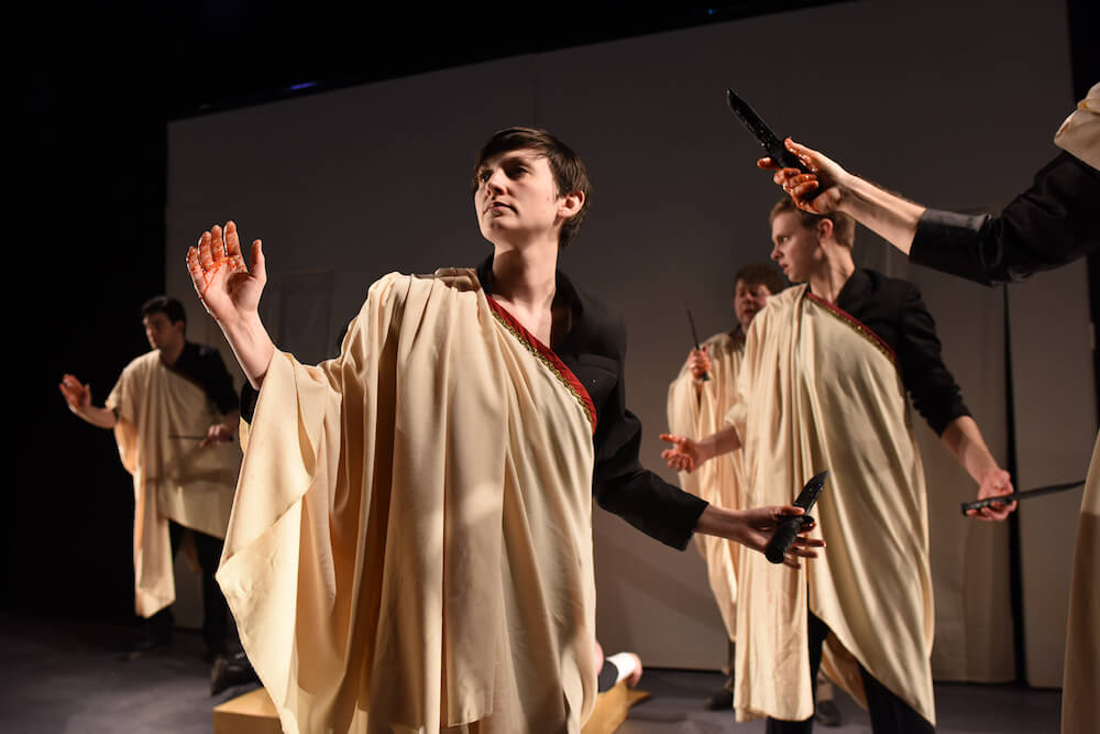 Julius Caesar Quintessence Theatre Group review