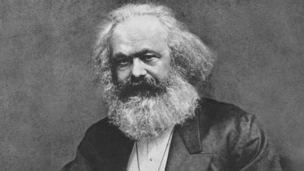 Bob Weick as Karl Marx... no, wait, that's just Karl Marx.