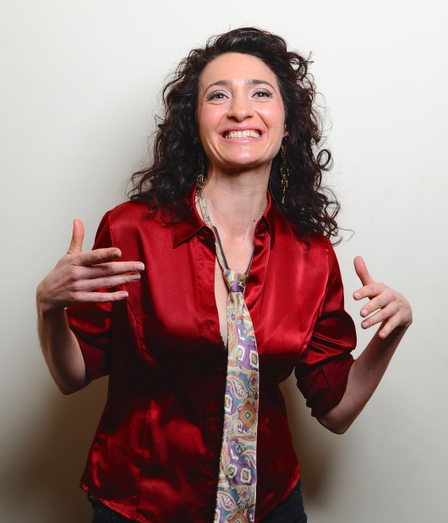"""RIDICULOUS, Jennifer Blaine's 16th original solo work for the Philly Fringe, is out-of-character in that she is """"playing"""" herself rather than other characters."""