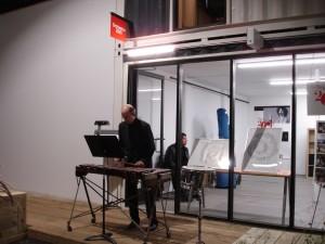 Bill Kerrigan on the xylophone. Photo by Chuck Holdeman