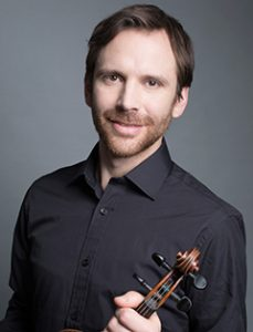 Oliver Heath, violin