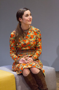 Geneviève Perrier BETRAYAL. Costume by LeVonne Lindsay. Photo by Mark Garvin.