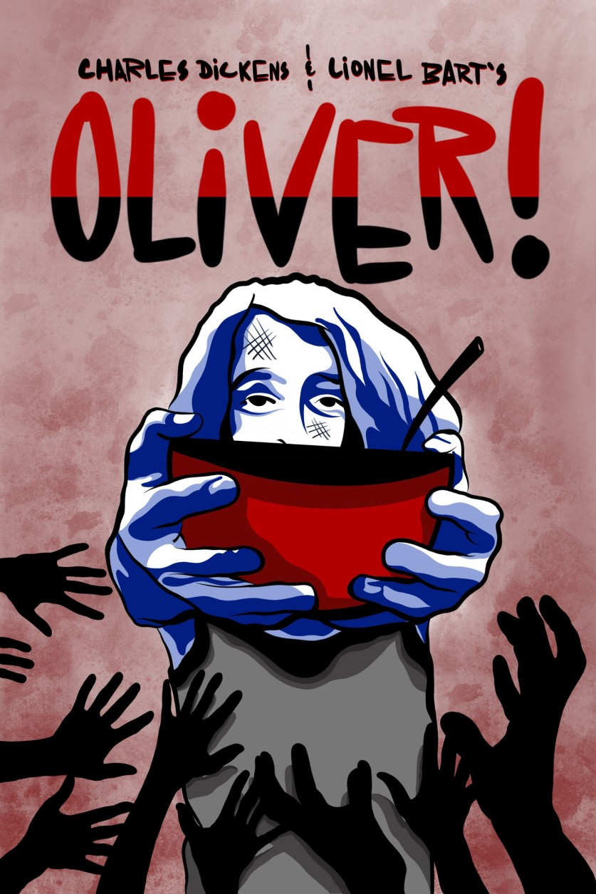 Oliver! poster, Quintessence Theatre Group
