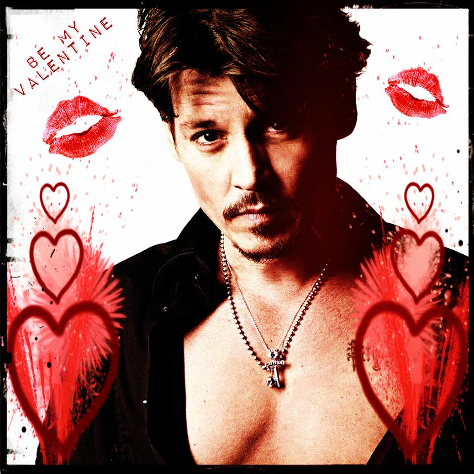 1. Johnny Depp Valentine