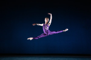 Albert Gordon in Trigger Touch Fade. Photo by Alexander Iziliaev.