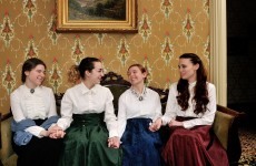 LITTLE WOMEN (Ebenezer Maxwell Mansion):  A sincere and sentimental view of female life in Victorian times