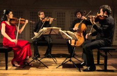BELCEA STRING QUARTET in recital at Princeton University