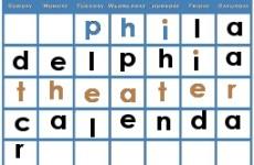 Philadelphia Theater Calendar: December 2016