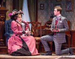 THE IMPORTANCE OF BEING EARNEST (Walnut): A trivial comedy for serious people
