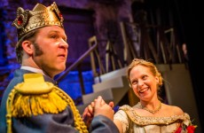 THE PRISONER OF ZENDA (Hedgerow Theatre): 60-second review