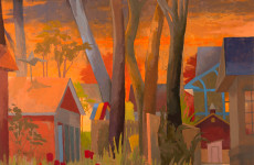 Utopias on the Outskirts: Celia Reisman's suburban landscapes at Gross McCleaf Gallery