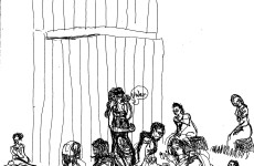 Theater in Sketch: CORIOLANUS (Shakespeare in Clark Park)