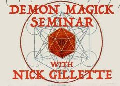 Devil May Care: Acrobatic comedian Nick Gillette gives demon summoning a go