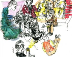 Theater in Sketch: A PROUST SONATA (Da Camera at FIAF)