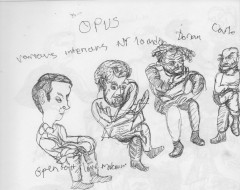 Performance in Sketch: Daedalus String Quartet and Michael Hollinger's OPUS