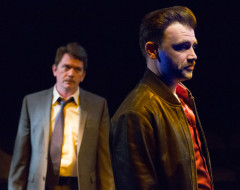 A STEADY RAIN (Walnut St): An intense and engrossing cop show