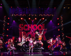 SCHOOL OF ROCK  (National tour at the Academy of Music): Amiable mediocrity