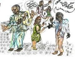Theater in Sketch: PASSAGE (Wilma Theater)