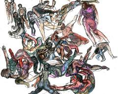 Dance in Sketch: Nia-Ni Chen Dance Company and the Ahn Trio (Next Move Dance)