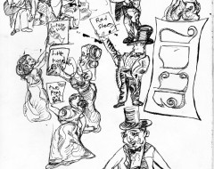 Theater in Sketch: Gilbert and Sullivan's IOLANTHE, OR THE PEER AND THE PERI (Savoy Company)
