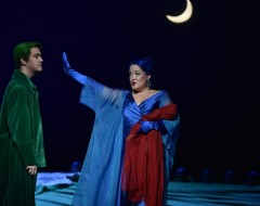 A MIDSUMMER NIGHT'S DREAM (Opera Philadelphia): Fairy magic and flying beds