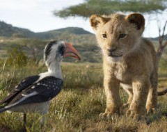 THE LION KING (dir. Jon Favreau): Beautiful and utterly pointless