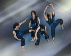 Dance in Sketch: FROM THE FEMININE GAZE (Anne-Marie Mulgrew and Dancers Co)