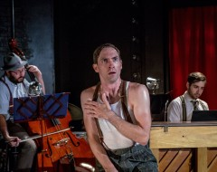 HERRINGBONE (Flashpoint Theatre Company): A remarkably strange solo musical, about a boy … with a problem