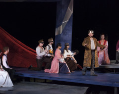 """HAMLET (Delaware Shakespeare Festival): """"'Fore God, my lord, well spoken . . ."""""""