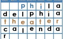 Philadelphia Theater Calendar: July 2015