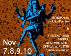 Micro-interviews of some Micromaniacs: Manon Manavit, Julius Ferraro, Drew Carroll, Scott Rodrigue, James Wadsworth Strong, Shelby Jackson
