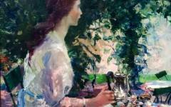The Artist's Garden (PAFA): Watch the women bloom
