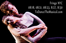 [NYC] TO DANCE – THE MUSICAL (Dancing in the Dark Productions): FringeNYC review