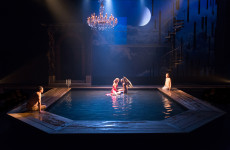 Diving into METAMORPHOSES: A watery stage takes shape at the Arden